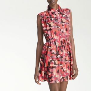Thakoon Addition Silk Camouflage Shirt Dress!